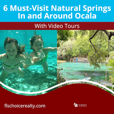6 of the best natural springs to visit in Ocala